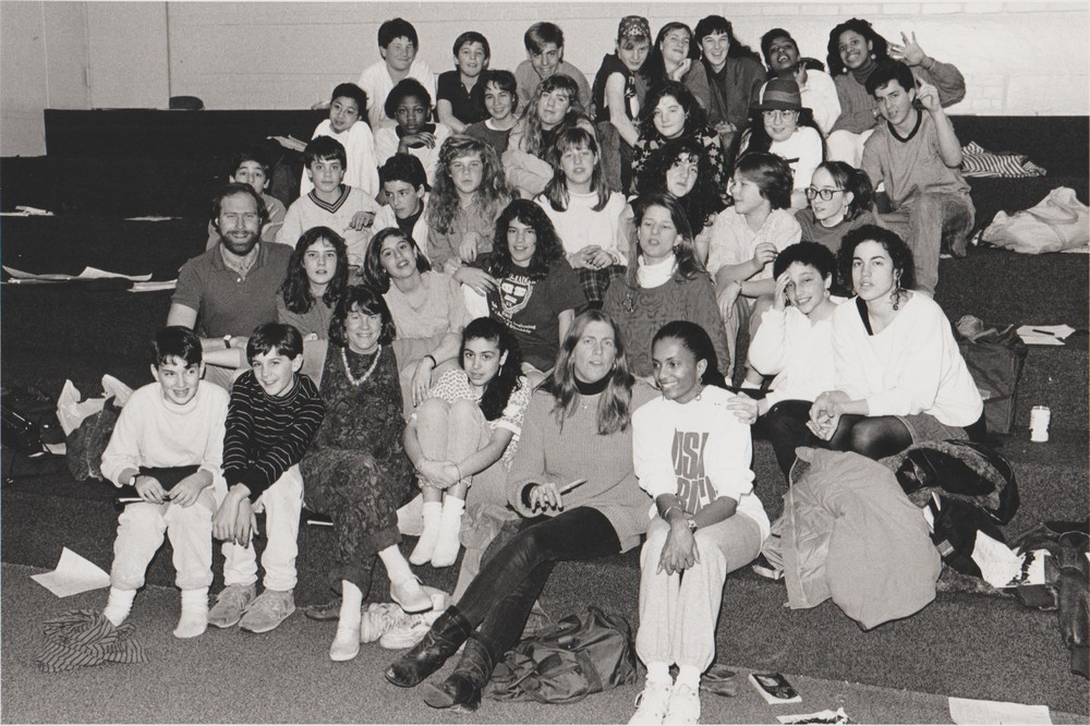 Freelance Players cast and staff, 1990