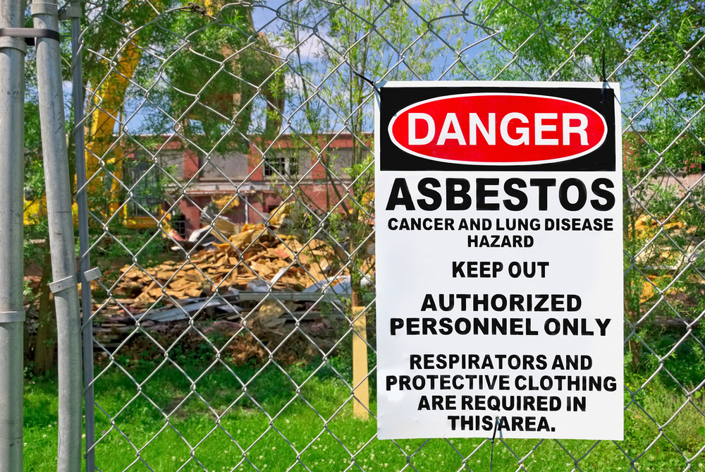 Click here to view our asbestos FAQ