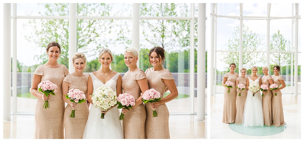 Those dresses. Those flowers. Those girls! What an awesome bridal party. I had so much fun with you guys!
