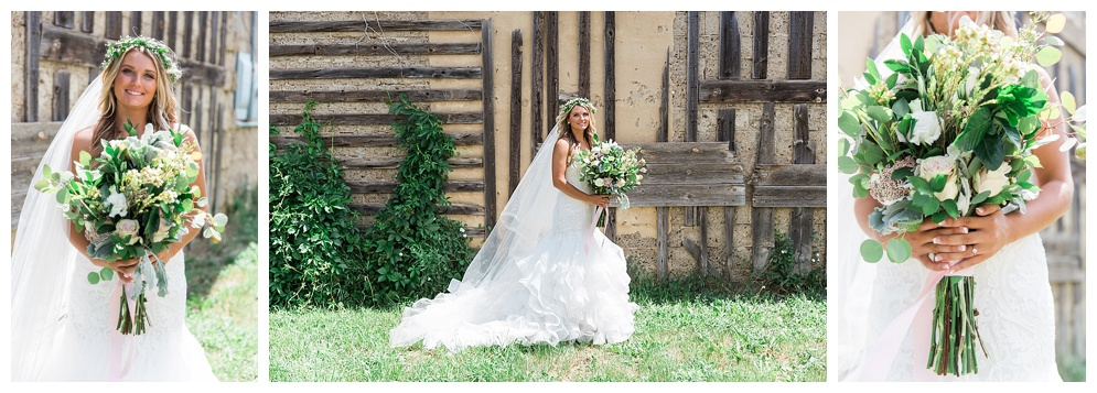 I can't get over Abby's stunning dress and beautiful boutique!