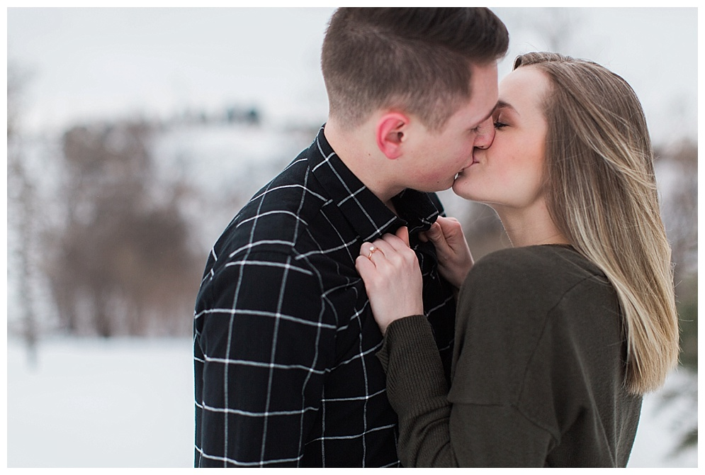 I met Kendra last year at the Bismarck Bridal show where she won a free engagement session. Dylan and Kendra were amazing to work with, their chemistry was impeccable. The session felt less like a photo shoot and more like hanging out with two very in love people.