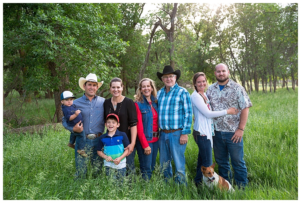 "I've known these guys literally my entire life, mainly because I get to call them cousins....somehow. It was great returning to their ranch seeing all the kids and reminiscing on old memories. My grandma use to take us there often as kids during the summer to see all the animals and I have very distinct memories of learning what ""calving season"" was thanks to Bev :) With all that has changed in our lives over the years, a few thing have remained the same; they still have amazing hospitality, a funny family, and great views! Thanks for inviting me out again!"