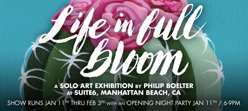 Life In Full Bloom Art Exhibition