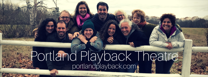 Here I am with about half of my Portland Playback family!