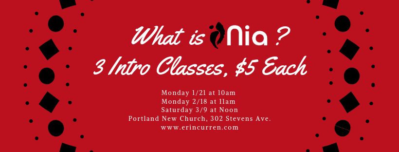 Join me for an intro class for only $5!  Click here to learn more .
