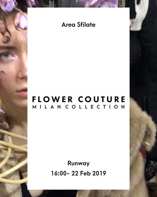 Attenzione! Vieni all'area Sfilate oggi alle 16:00 per la sfilata di moda floreale. Seguici sulla storia per l'aggiornamento in tempo reale @flower.couture.  Attention my plant lovers! Come to Area Sfilate today at 16:00 for floral fashion show. Follow us live on Stories @flower.couture.