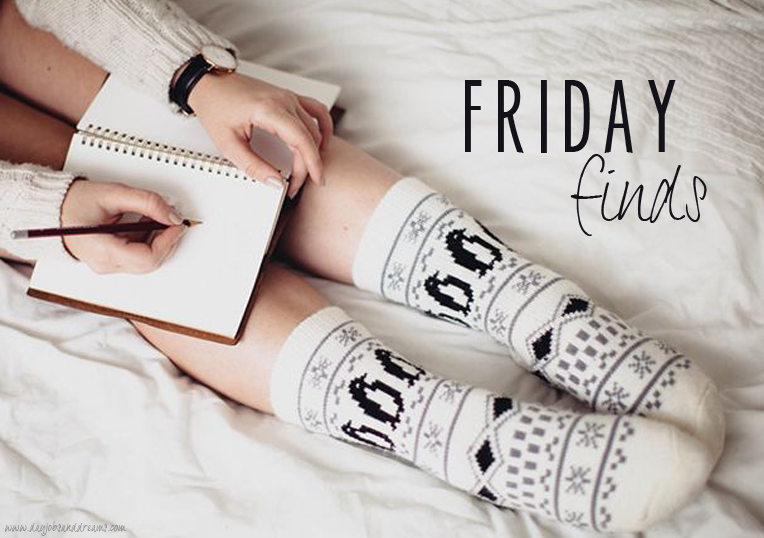 Five for Friday Finds // 12/15/14