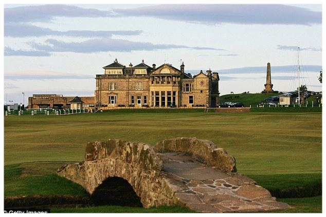 St. Andrews, home of golf