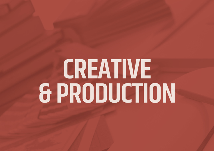 CREATIVE & PRODUCTION FROM DEALER WEBSITE DESIGN, OPTIMIZATION & MAINTENANCE TO TRADITIONAL MEDIA, YOUR NEEDS ARE MET BY OUR IN-HOUSE PRODUCTION AND MANAGEMENT TEAMS.