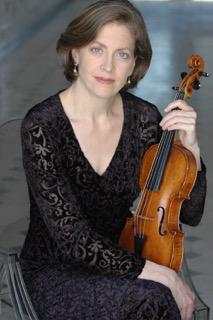 Concertmaster Carla Moore.