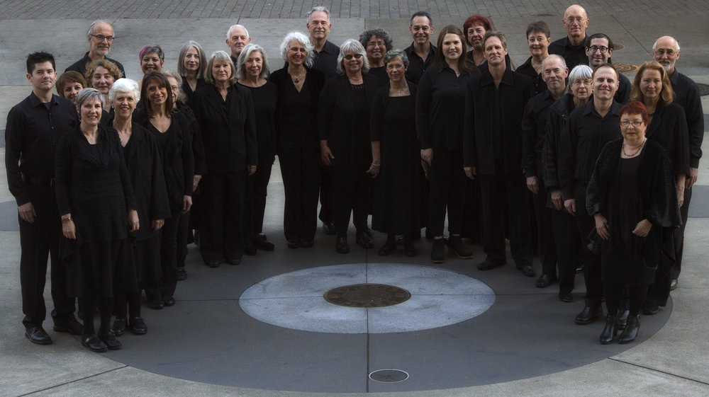 The choir, Fall 2017.  Photo by Will Toft.