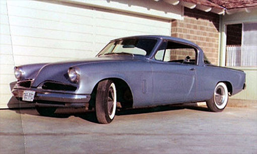 First car was a '53 Studebaker at age 14 and by age 16 he had a small block Chevy V8.