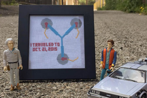 Cross Stitches For Charity