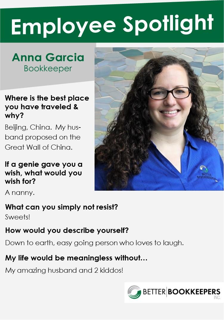 Anna Garcia Employee Spotlight