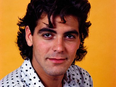 Clooney needs to update his marketing materials if this headshot is still on his website.