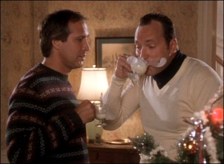 Cousin Eddie: NOT a smart partier.