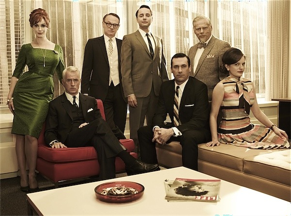 The gang from Sterling Cooper Draper Pryce. In it to win it.