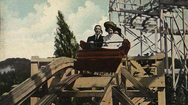 Vintage Roller Coaster
