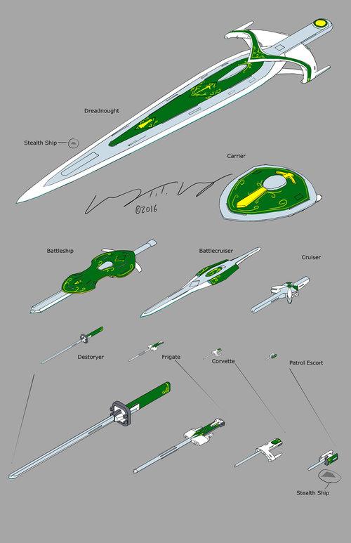 Starship Schematics on