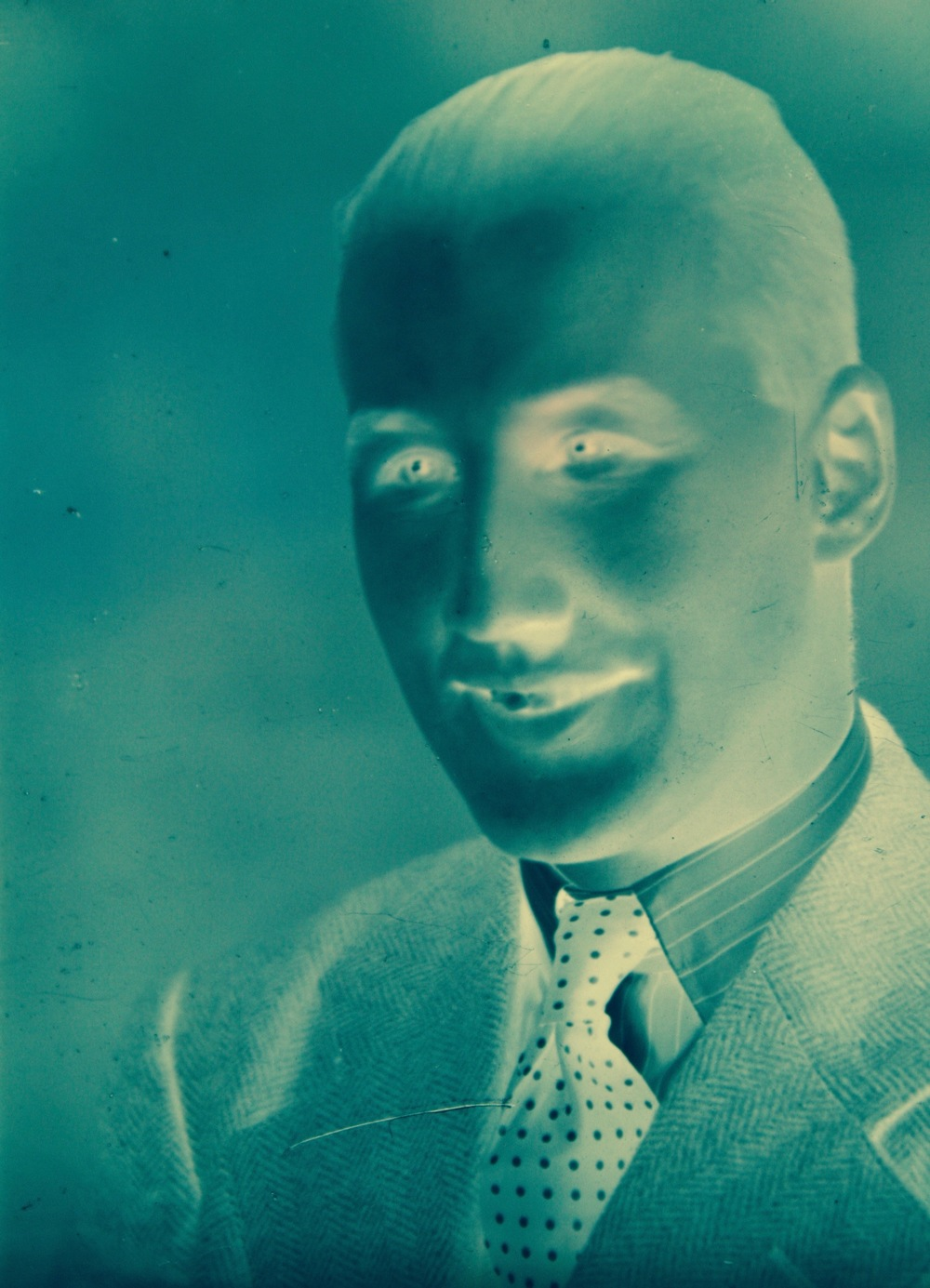 I can see your past 2, 2004 Photograph negative manipulated archival print,   22 x 18 inches.