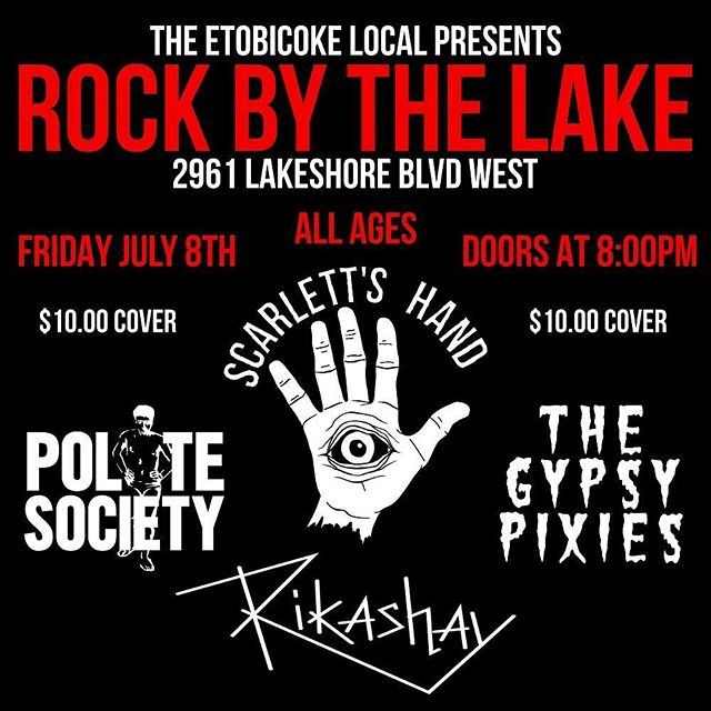 Here's our next upcoming show! July 8th at the Etobicoke Local, all ages, $10 cover! we will be selling tickets within the next coming week anyone interested just DM for more details! #indiemusic #indierock #newrock #rock #newmusic #music #newbands #indiebands #hardrock #torontomusic