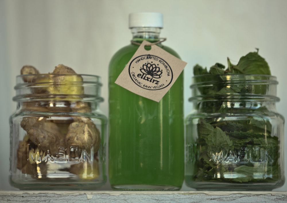Chlorophyll (Mint+Ginger)  *Currently Available