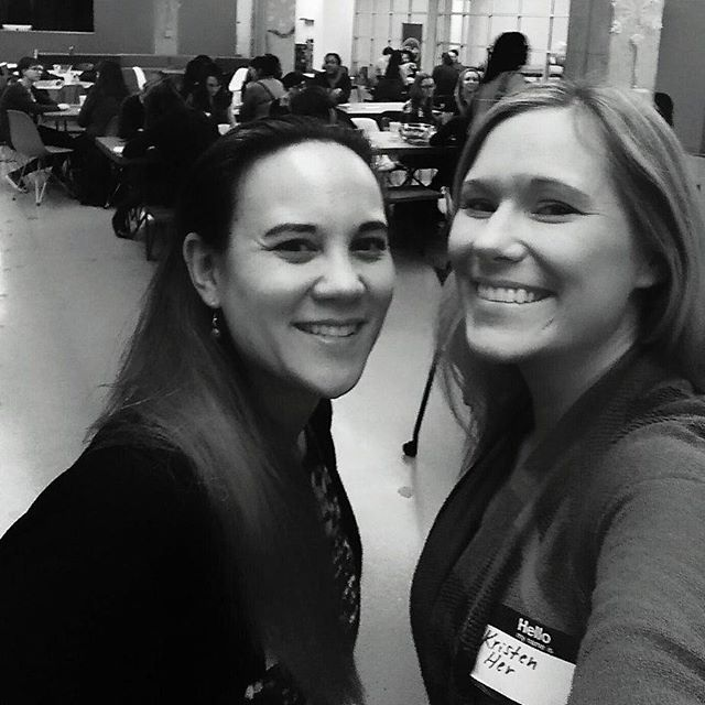 Representing @clarity.con at the #witkickoff 2017! #womenintech