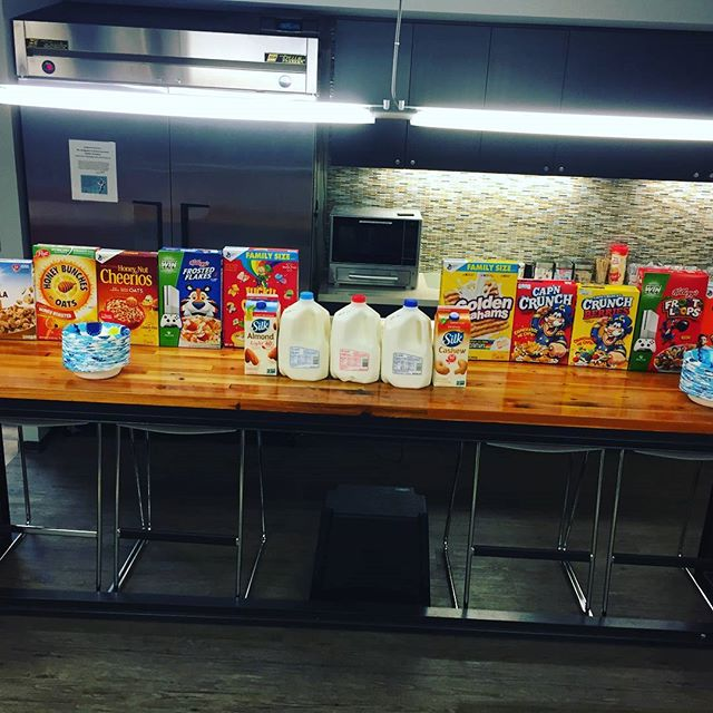 Cereal bar! #MakeMondaysBetter #ClarityWorkLife