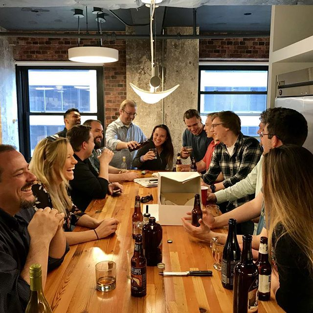 Just another Friday afternoon at Clarity #craftbeer #whiskey #ClarityWorkLife