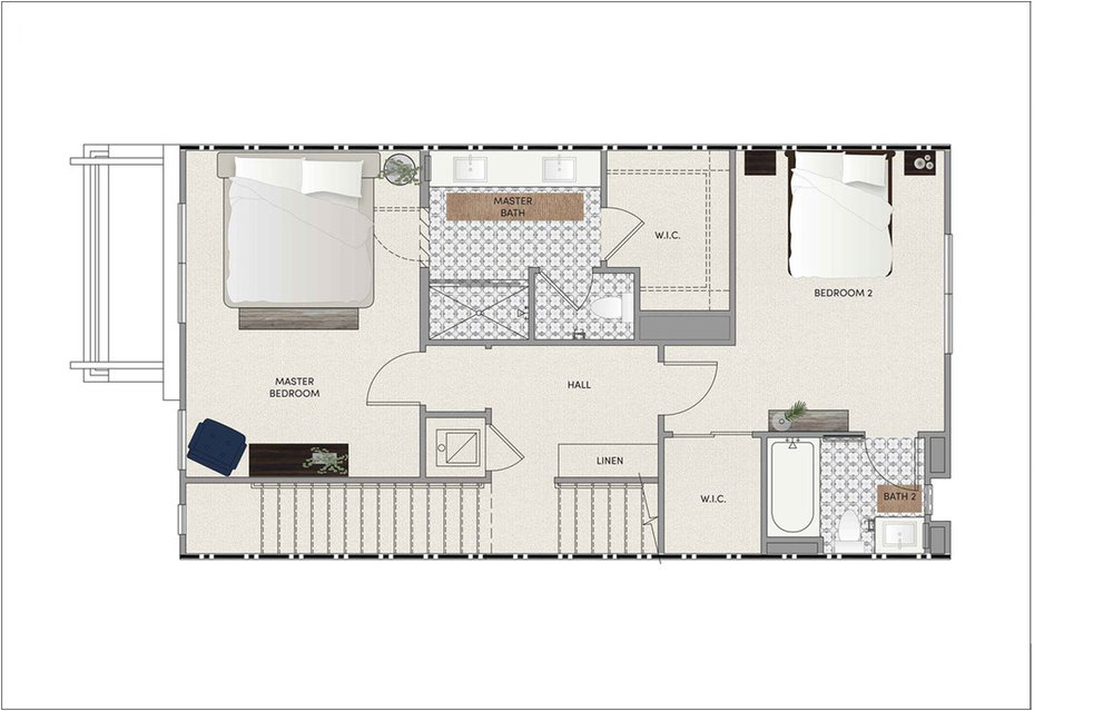PLAN 2 - THIRD FLOOR