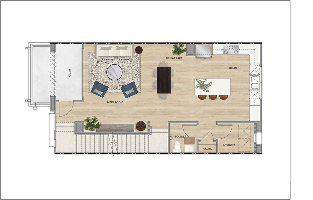 PLAN 2 - SECOND FLOOR