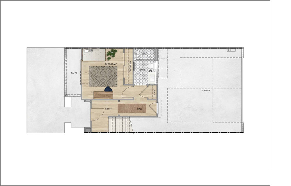 PLAN 2 - FIRST FLOOR