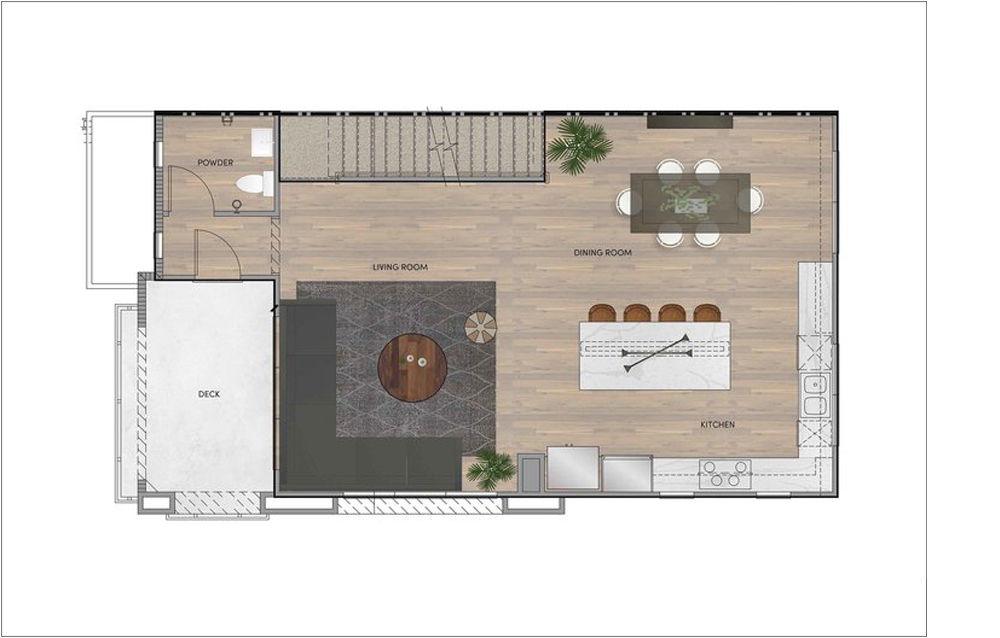 PLAN 3 - SECOND FLOOR