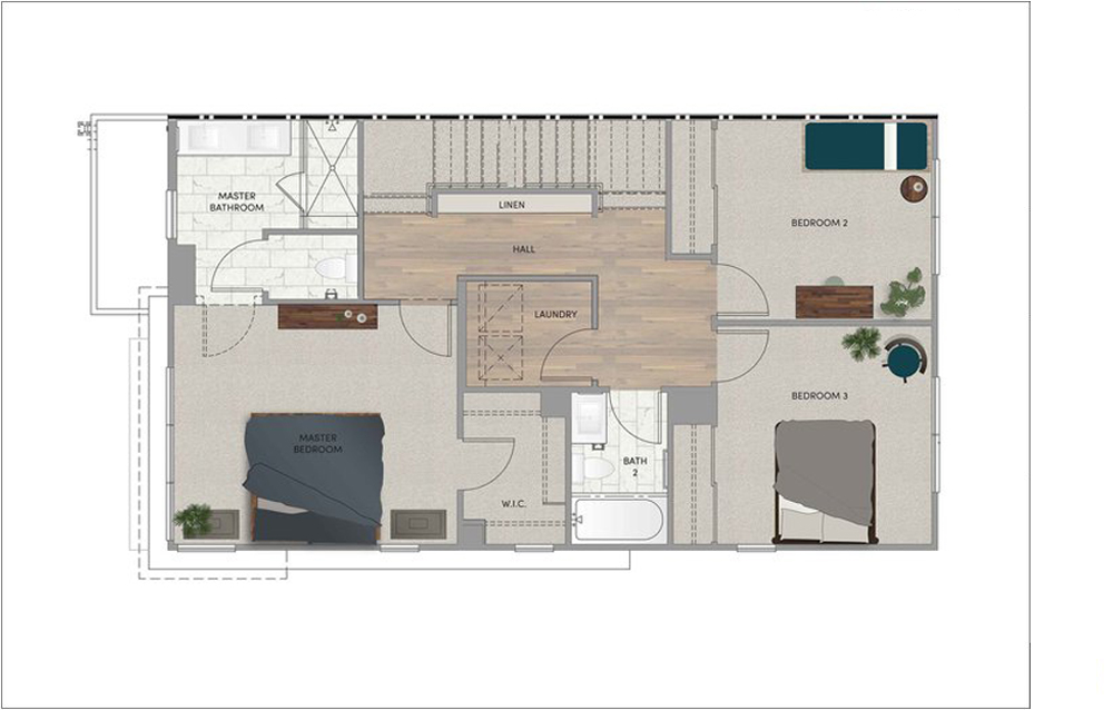 PLAN 3 - THIRD FLOOR