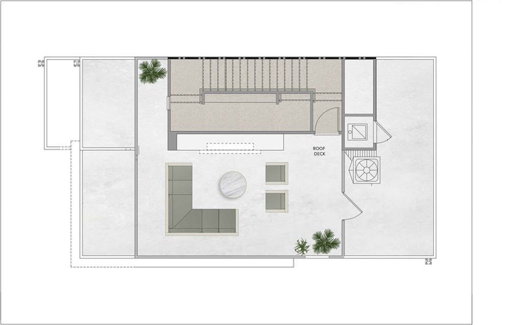 PLAN 3 - ROOF DECK