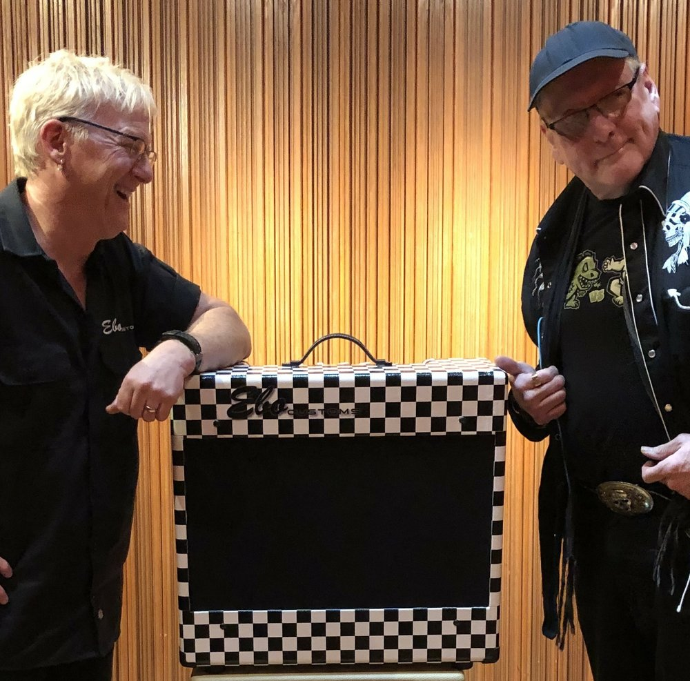 How did I know that Rick would want a b&W checkerboard Del Rio?