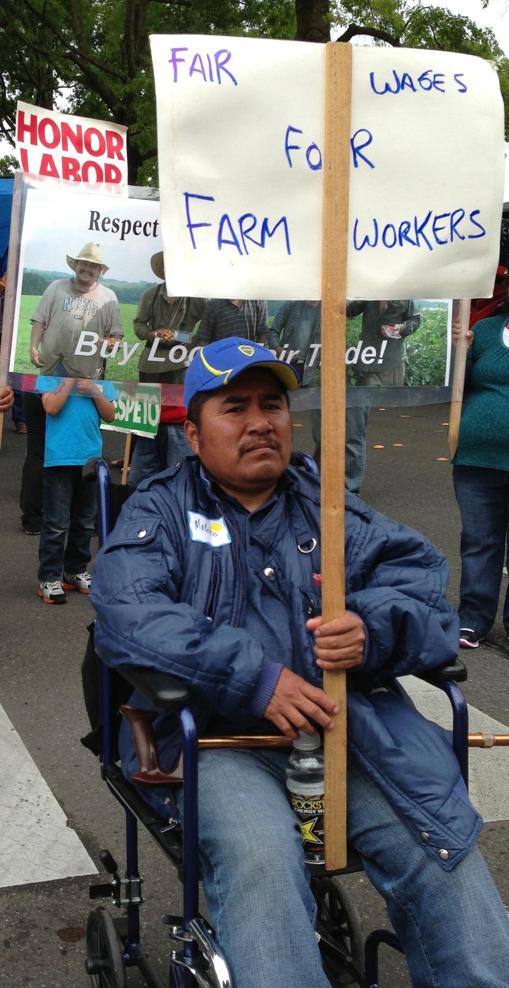 Modesto Hernandez, Farmworker Organizer