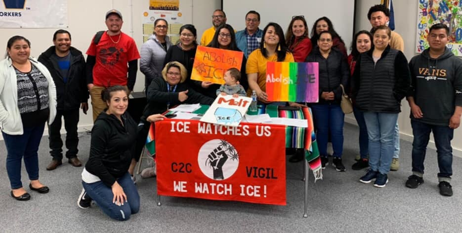 Raid Relief to Reunite Families at a WAISN Know Your Rights Training given by Monserrat Padilla