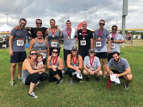 This past Saturday some of our Chalk crew competed in the Fit Company Challenge! There were multiple events that they competed in and everyone did a fantastic job! Good work team 👊🏼 @workfitlivefit - #fitcompany #austin #keepaustinfit #westlake #fitness #health #competition