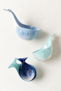 ANTHROPOLOGIE WHALE-TAIL MEASURING CUPS