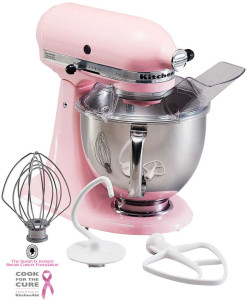 COOK FOR THE CURE! KITCHENAID KSM150PSPK ARTISAN