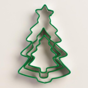 EVERGREEN TREE COOKIE CUTTERS