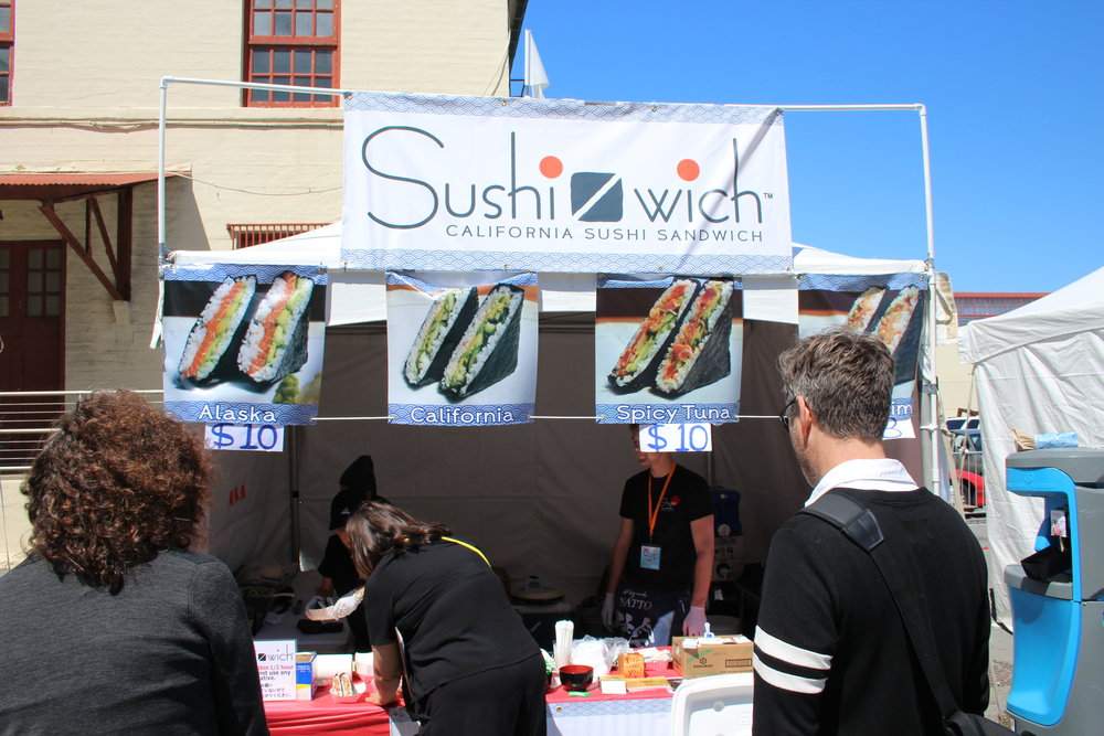 "Shige Sushi : Serves ""Sushi-wich,"" an original sushi ""sandwich"" with fillings including spicy tuna, California-style, and Natto."