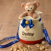 Duffy Popcorn Bucket  2500 yen    ♦ Disney Sea exclusive!