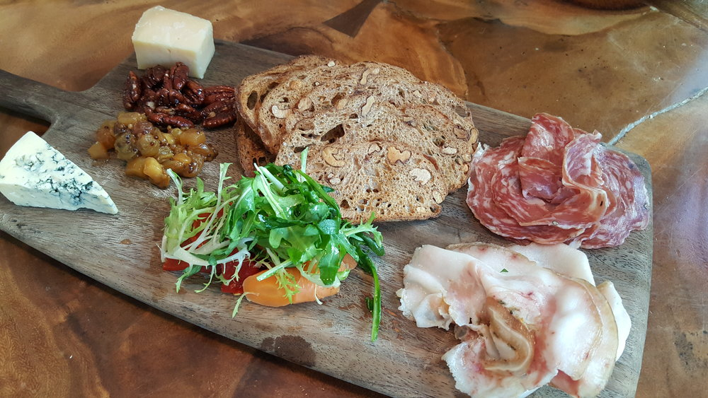 Cheese & Charcuterie Board (Daily Selection of Housemade Charcuterie, Artisan Cheeses with Appropriate Seasonal Accompaniments)