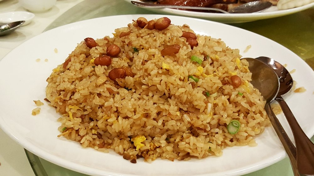 Sweet Rice with Chinese Bacon & Sausage