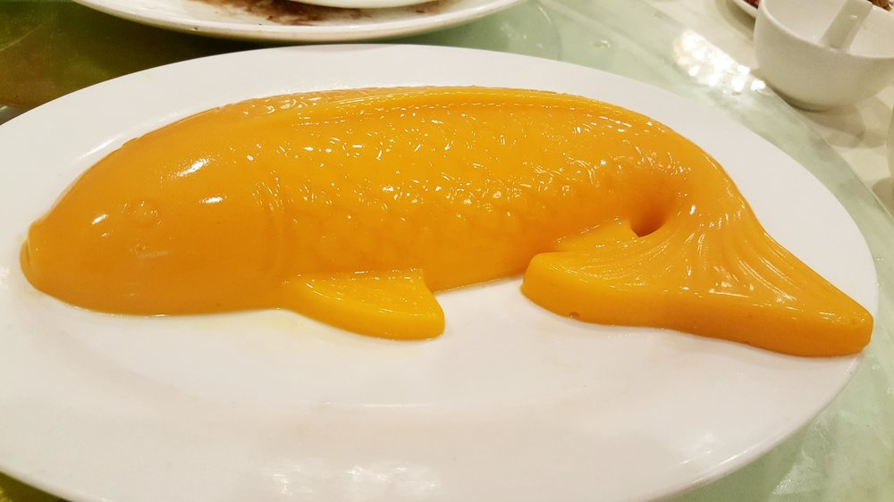 Koi Fish Mango Pudding