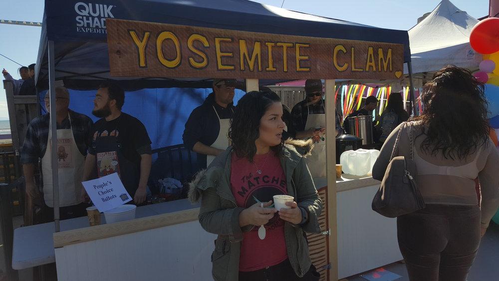 Yosemite Clam by Chris Cox