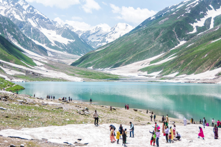 … but the area was filled with tourists, trash, and was generally less pleasant than the rest of northern Pakistan.
