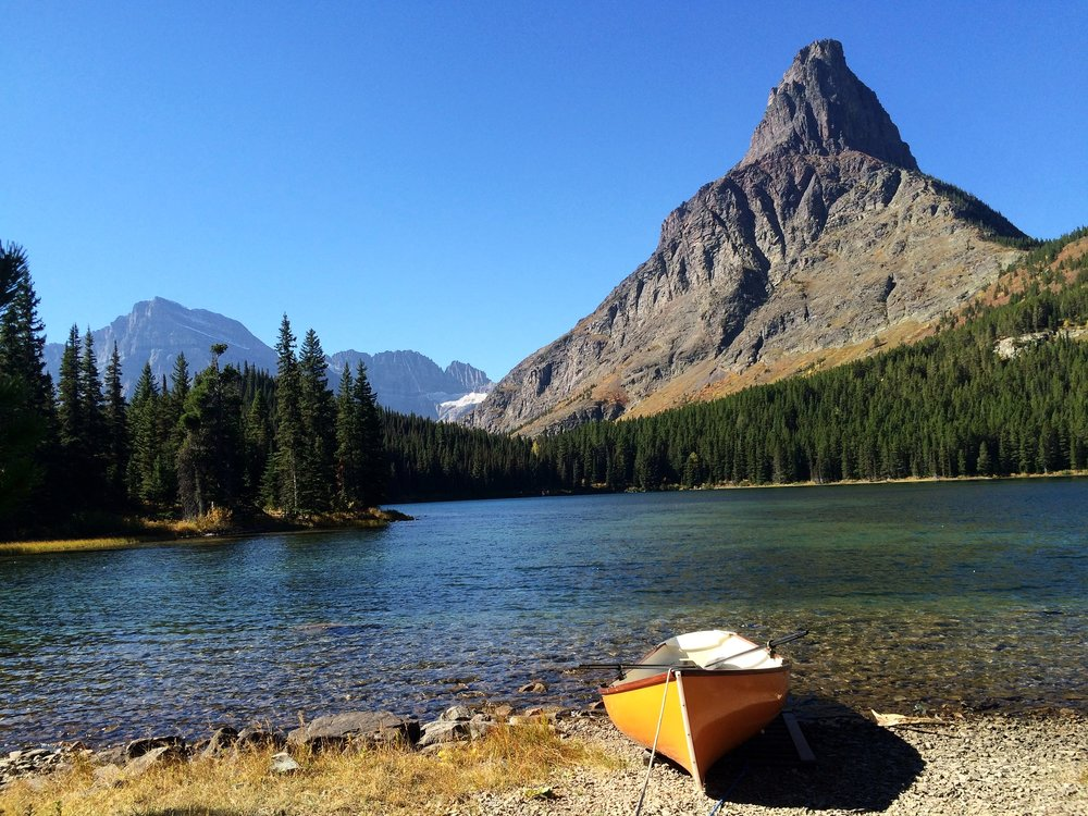 Swiftcurrent Lake in Many Glacier